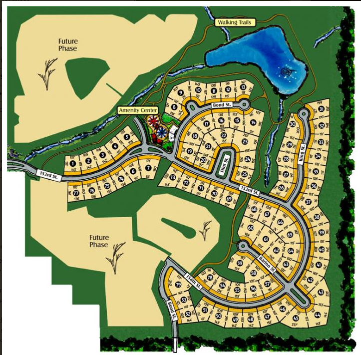 Bluestem homes for sale