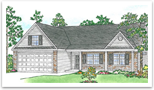 Georgia Rendering Blue Creek Estates Jacksonville NC