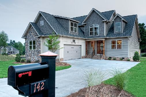 Briar Creek Subdivision Cottage Style Homes Greer