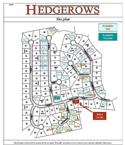 Hedgerow Homeowners Association: G & O Classic Home Builder Hedgerows Buford GA