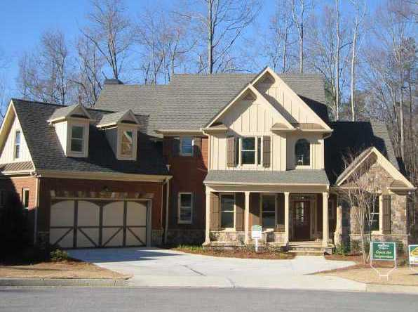 Custom build homes in the heritage at grayson neighborhood for Grayson home