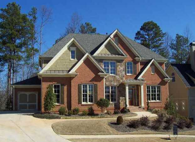 New buford ga homes in waterside at lanier springs for New modern homes in atlanta ga