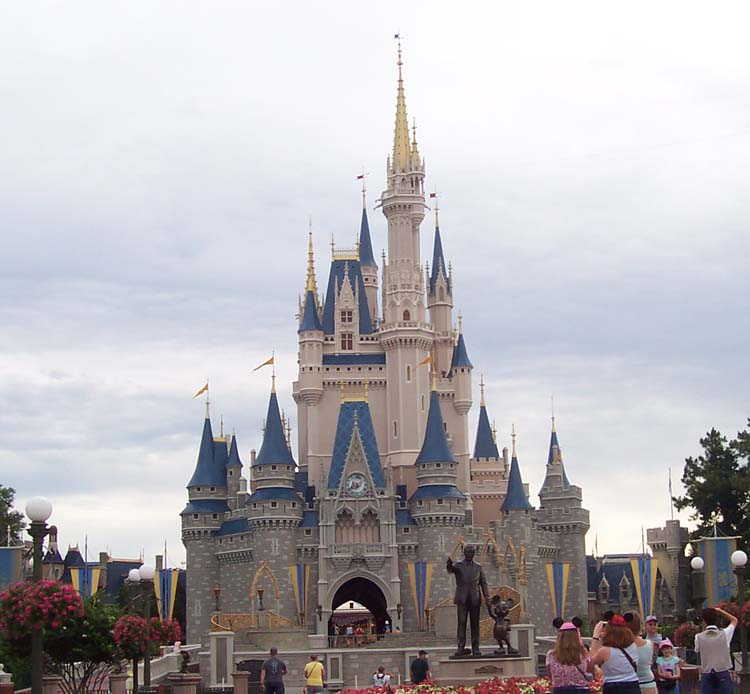 florida walt disney world pictures. Walt Disney World Castle