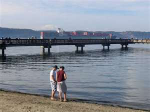 Northeast Tacoma's Dash Point Beach