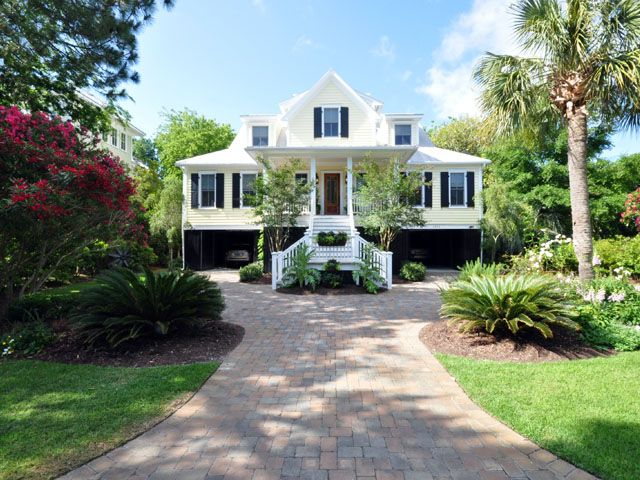 Front of 1315 Cove Ave for sale on Sullivan's Island