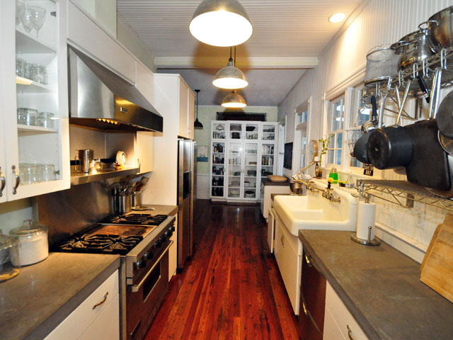 Gourmet kitchen at 328 Bennett Street, Old Village, Mount Pleasant